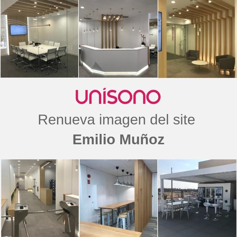 Grupo Unísono renueva su site Emilio Muñoz