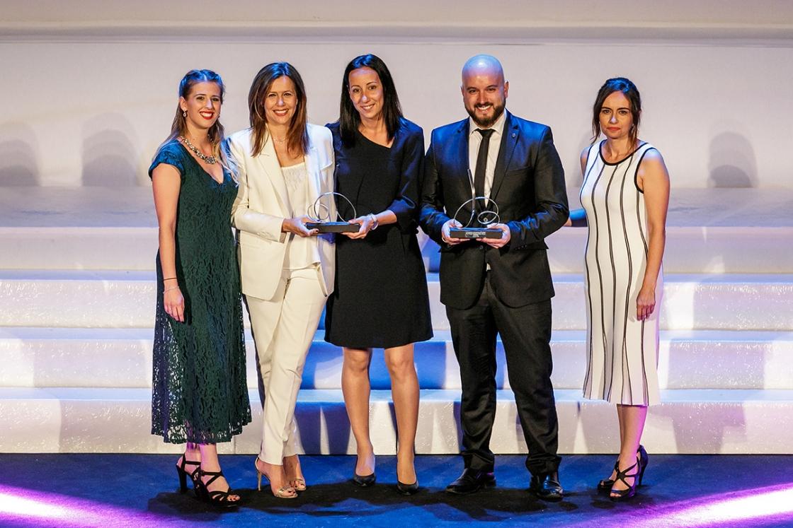 Danone y Grupo Unísono reciben el premio a la Mejor Experiencia de Cliente en la categoría de industria