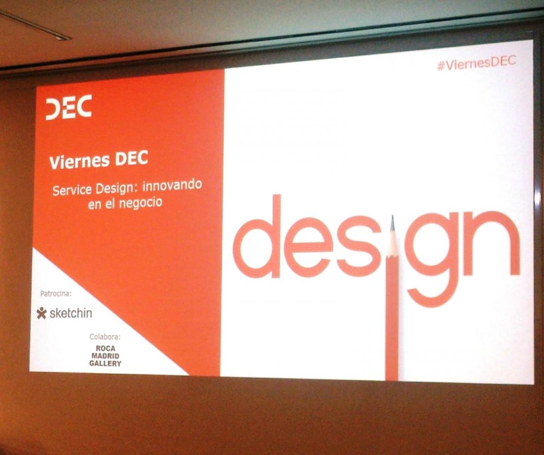 Viernes DEC: Service Design, Innovando en el negocio